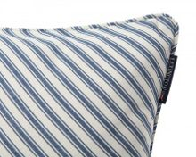 Lexington Ticking striped sham with inner 50x50, Blue