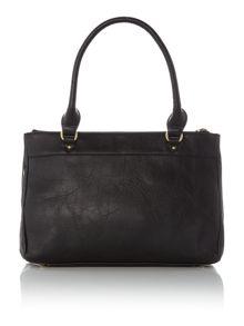 Alison black bowling bag