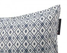 Authentic Diamond Print Sham 50x50 in Blue