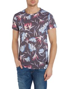 Anerkjendt Sacho Crew Neck Regular Fit T-Shirt In Tropical L