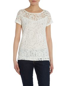 Lace T-shirt Top