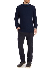 Vulcan Ribbed Raglan Jumper