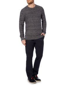 Calthorpe Diamond Textured Jumper
