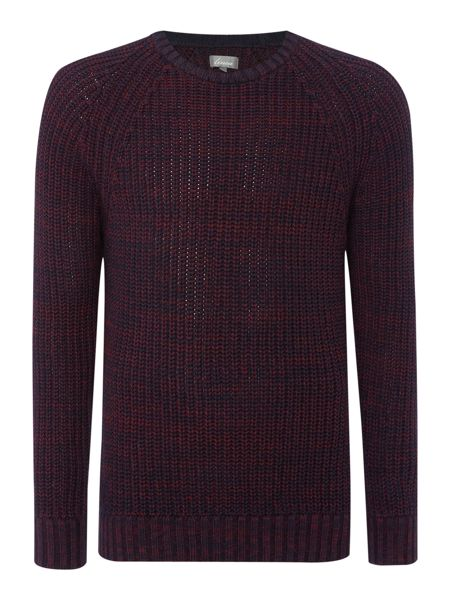 Linea Lanchester Two Colour Ribbed Jumper
