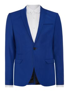 Label Lab Rutherford Peak Collar Extra Slim Suit Jacket