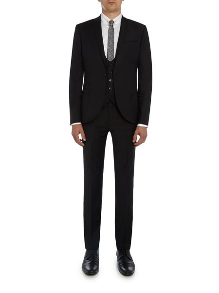 Label Lab Rutherford Peak Lapel Skinny Suit Jacket