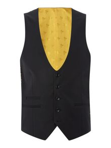 Label Lab Rutherford Plain Extra Slim Waistcoat