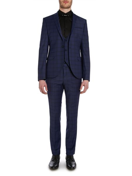 Label Lab Maxwell Slim Suit Trousers