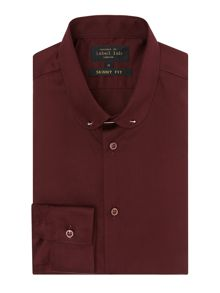 Label Lab Fermi Slim Fit Shirt With Penny Collar