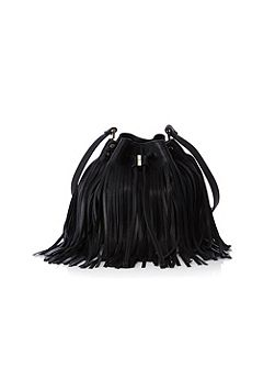 Mini fringe bag