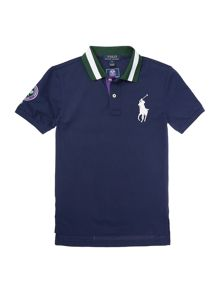 Boys Wimbledon Official Ball Boy Polo