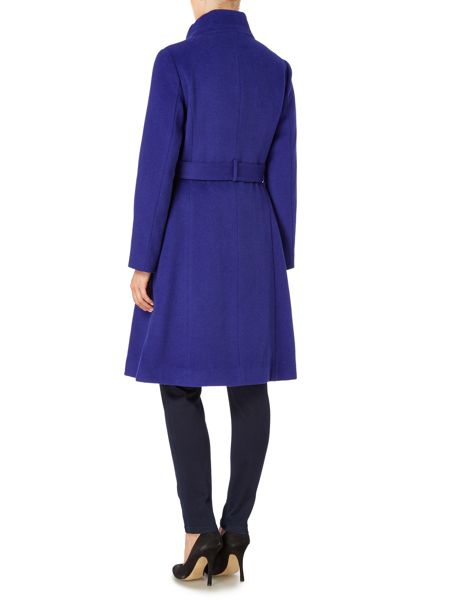 Pied a Terre Hallie Funnel Neck Coat