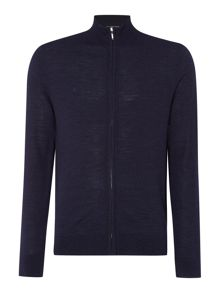 Linea Machine Washable Merino Zip Funnel Cardigan