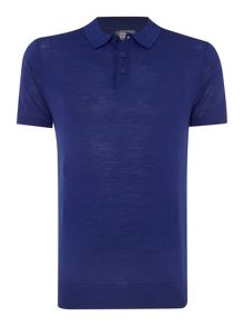 Linea Machine Washable Merino Short Sleeve Polo
