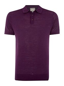 Machine Washable Merino Short Sleeve Polo