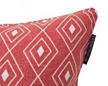 Lexington Authentic Graphic Print Sham 50x50 in Red