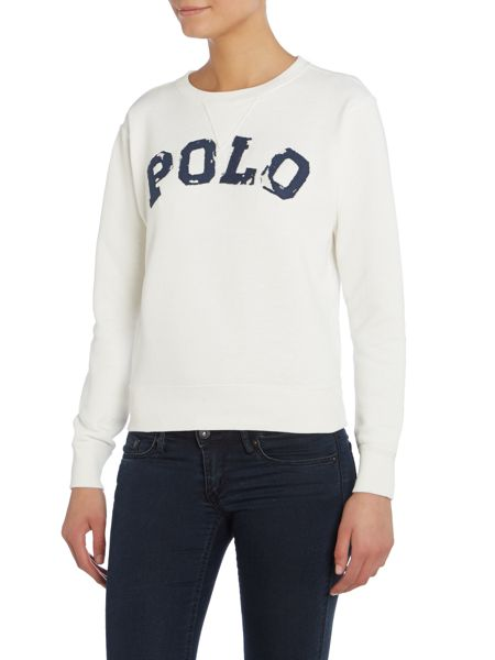 Polo Ralph Lauren Tyra Long sleeve logo sweater