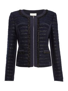 Linea Luxe tweed detail jacket