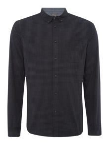 Linea Linea Hunt Long Sleeve Gingham Shirt
