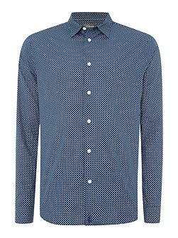 Nicholson Long Sleeve Geo Print Shirt
