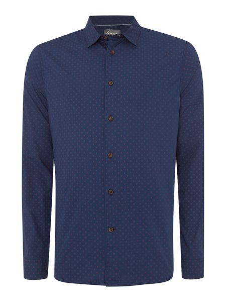 Linea Linea Walker Long Sleeve Geo Print Shirt