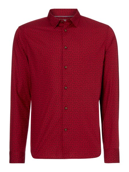 Linea Linea Jackson Long Sleeve Polka Dot Shirt