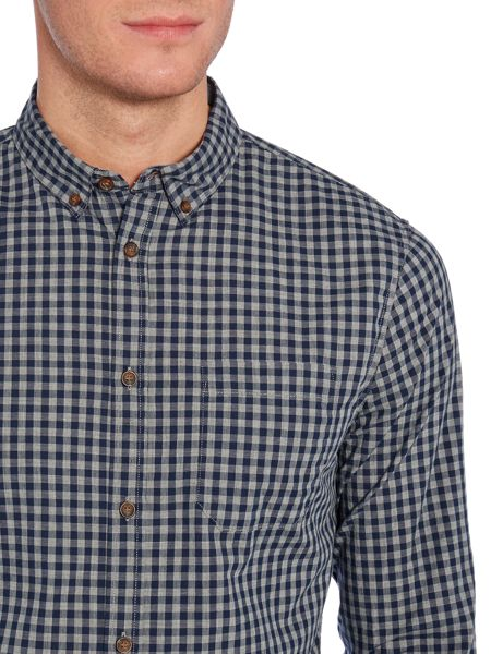 Linea Pearce Long Sleeve Gingham Shirt