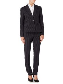 Tailored pinstripe trouser
