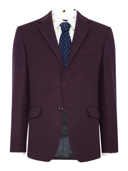 New & Lingwood Almond Notch Lapel Blazer