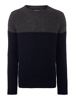 Avery Colour Block Crew Neck Jumper