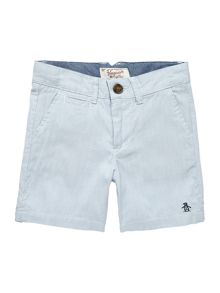 Boys Ticking Stripe Shorts