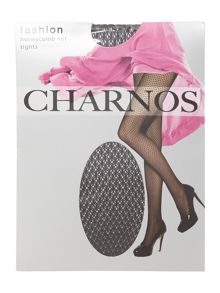 Charnos Honeycomb net tights