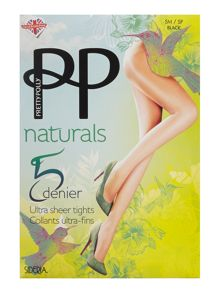 Pretty Polly 5 Denier sideria tights