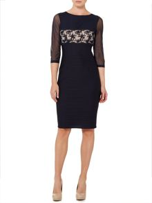 Linea Elsa lace waist detail dress