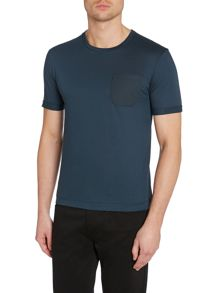 Reuben T-Shirt With Textured Pocket