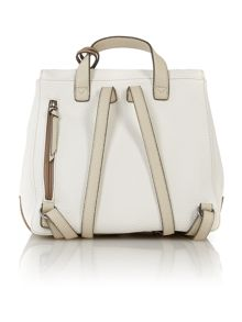 Petra white backpack