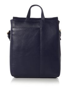 Borough market navy medium crossbody bag