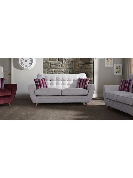 linea riva 3 seater sofa house of fraser. Black Bedroom Furniture Sets. Home Design Ideas