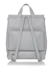Broadway market grey medium backpack