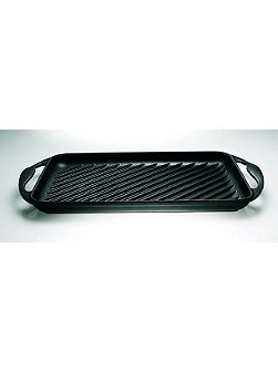 Rectangle 32.5cm Grill Black