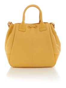 Holland Park yellow drawstring  crossbody bag