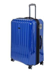 Linea Titanium blue 8 wheel hard large case