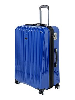 Titanium blue 8 wheel hard large case