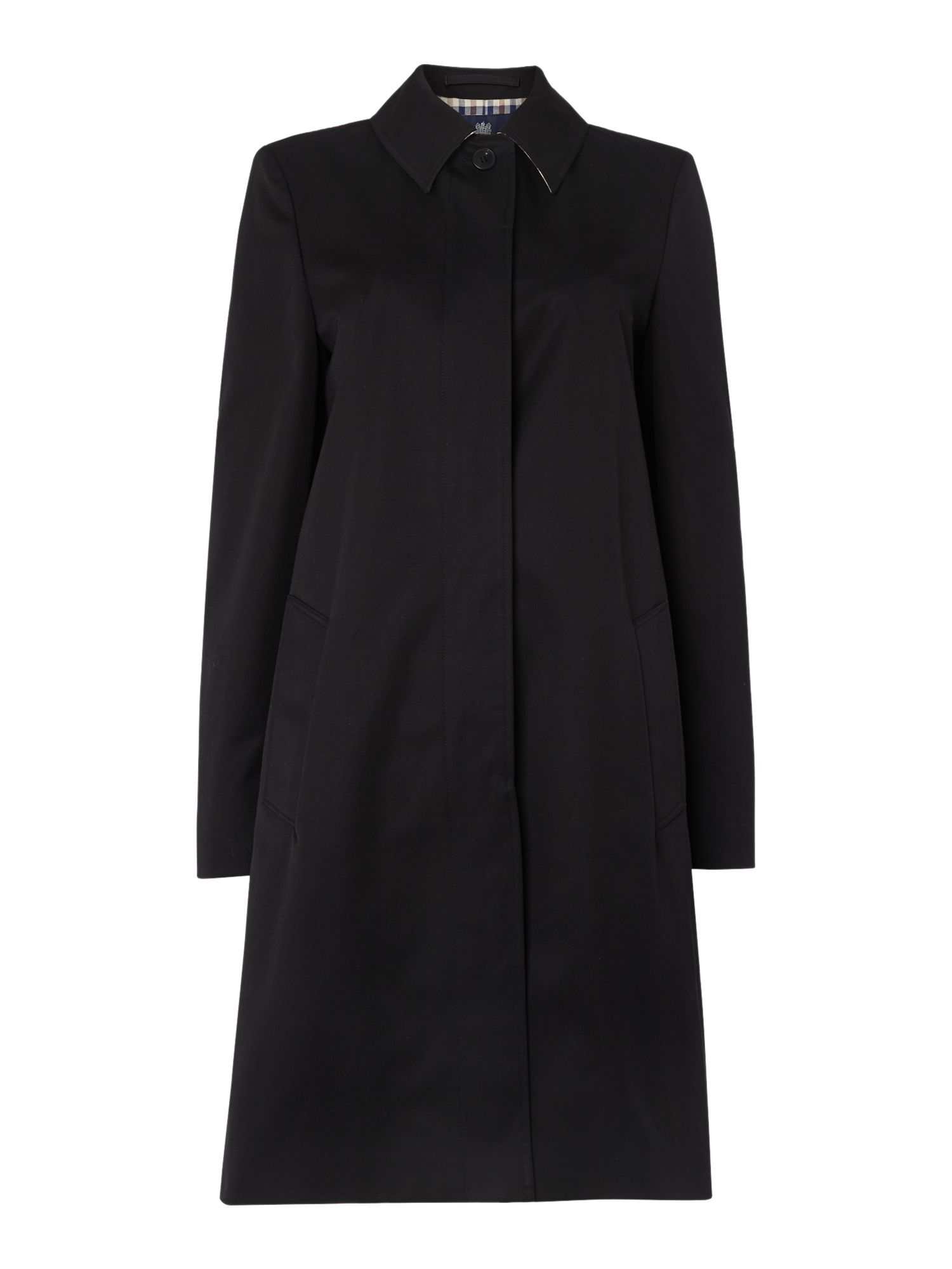 Aquascutum Dulwich Raincoat, Black