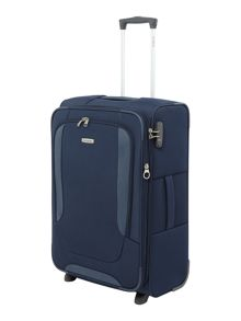 Samsonite Arnavon blue 2 wheel soft medium upright
