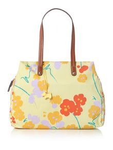 Butterfield yellow large shoulder bag