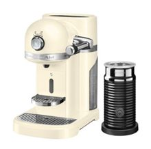 KitchenAid Nespresso Machine + Aeroccino Almond Cream