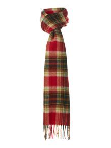 duxford plaid scarf