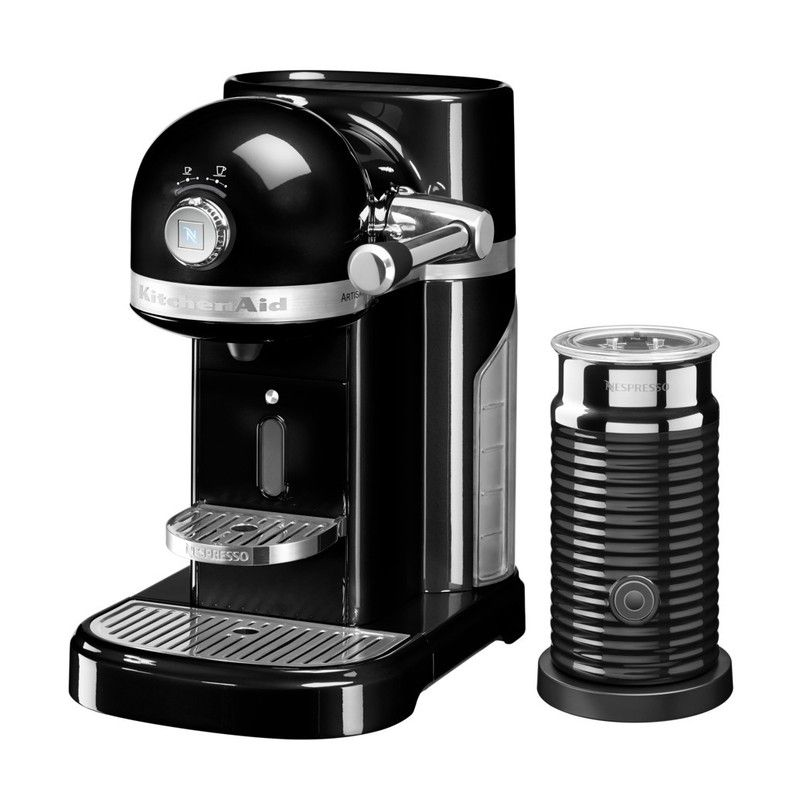 KitchenAid Nespresso & Aeroccino Machine Onyx Black