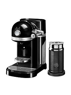 Nespresso Machine + Aeroccino Onyx Black